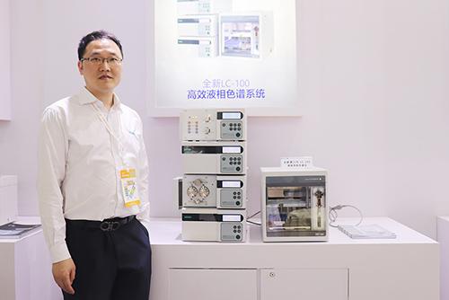 伍丰仪器亮相P-MEC China 2019 全新第三代LC-100液相色谱仪大获好评