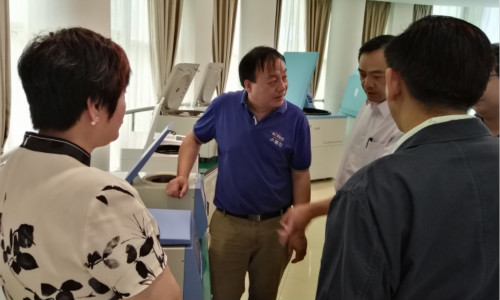 泰國客戶前來盧湘儀考察訪問,肯定公司基礎實力