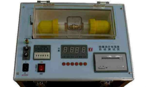 效率高、测量准,盛泰油品耐压测试仪优势凸显