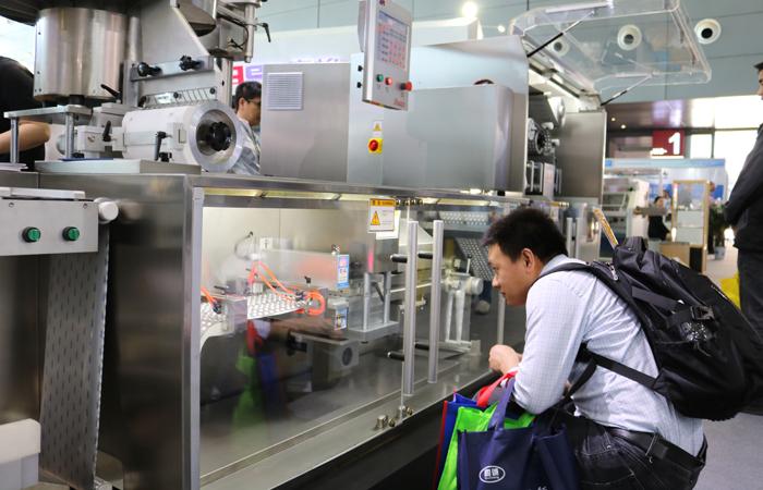 第57届药机展:锦州华鑫展示包装机械企业新风采