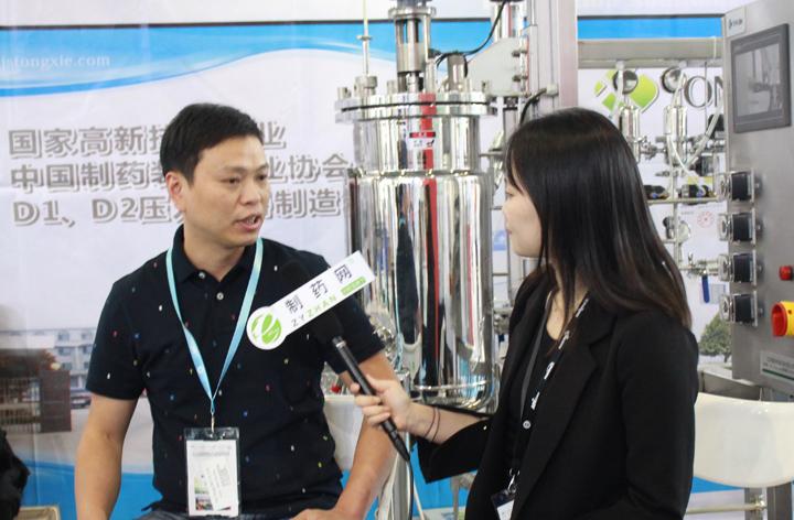 专访江苏通协机械设备有限公司总经理项海波